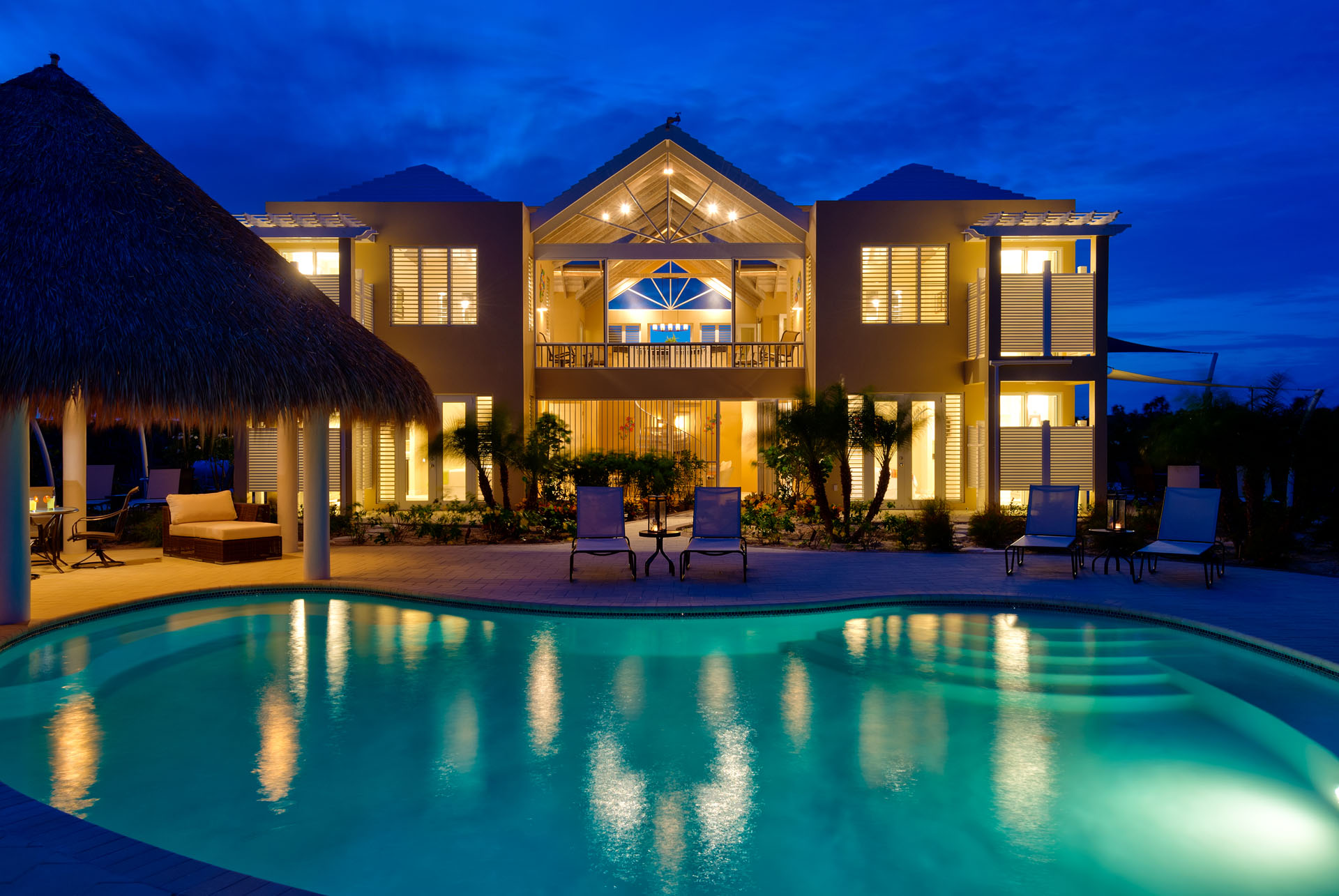 Windhaven luxury beach villa rental in Turks and Caicos