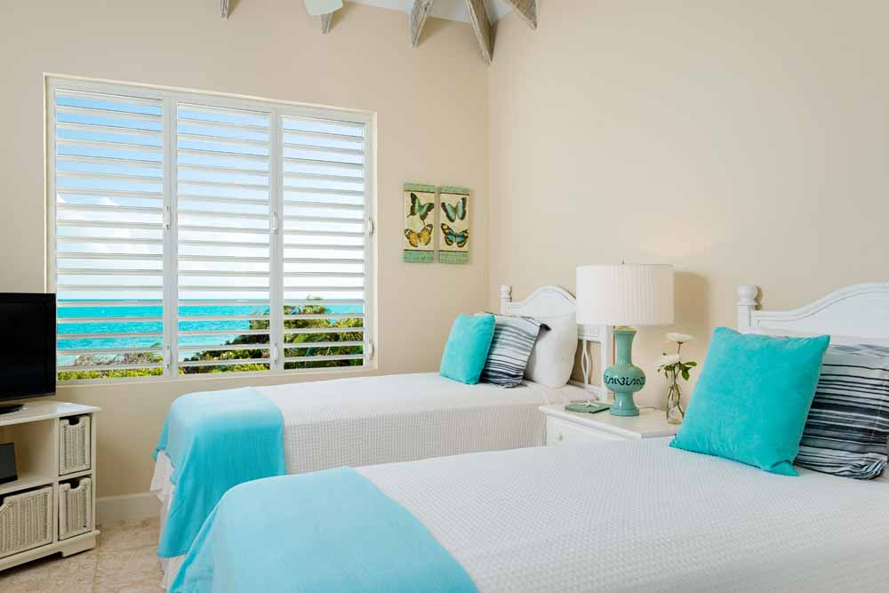 Windhaven luxury beach villa rental, Long Bay, Turks and Caicos.