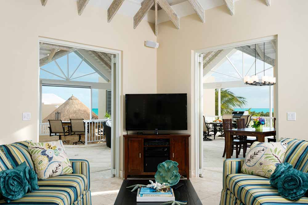 Beaufort house, windhaven villa rental in Turks and Caicos