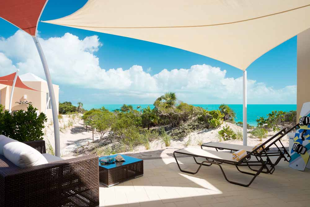 Windhaven luxury beach villa rental  - Caracol villa - Long Bay - Turks and Caicos