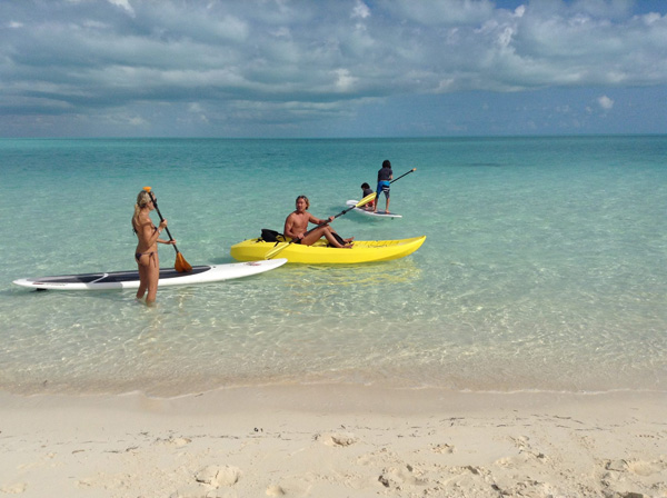 Windhaven luxury beach villas, Long Bay, Turks and Caicos - For all family
