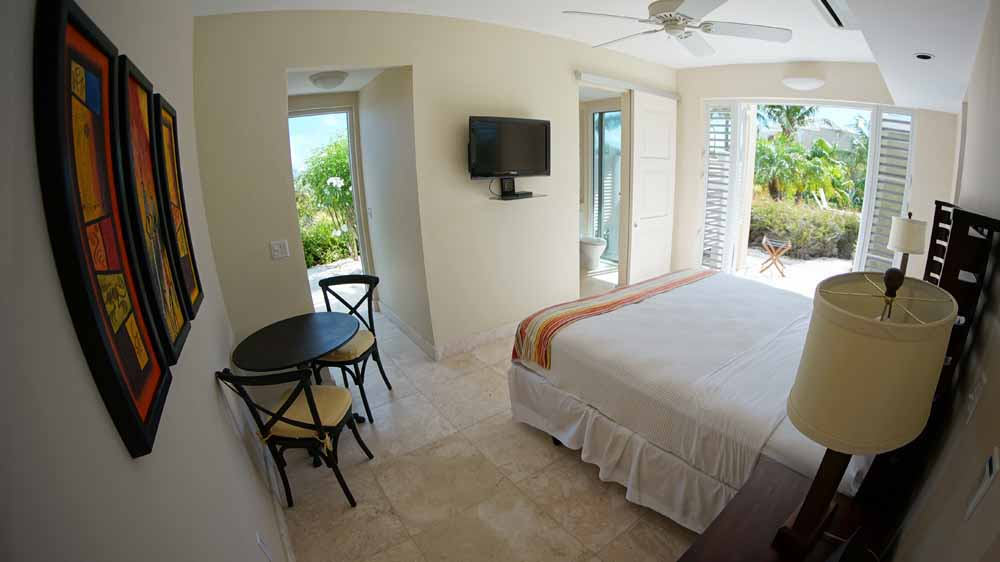 Windhaven luxury beach villa Long Bay, Turks and Caicos.
